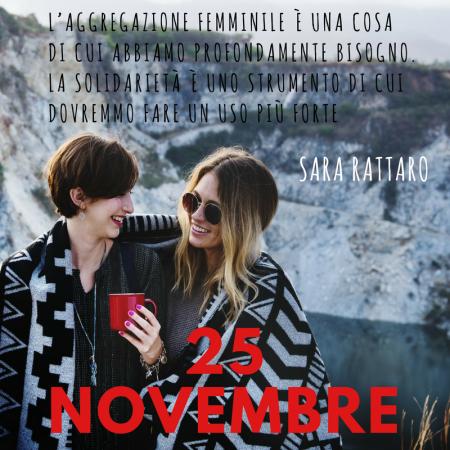 25 novembre Sara Rattaro